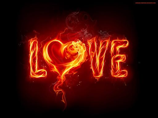 Hotness Of Love Wallpaper