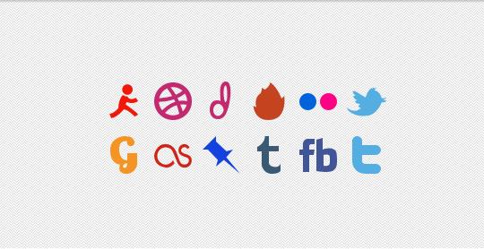 Social media PSD file