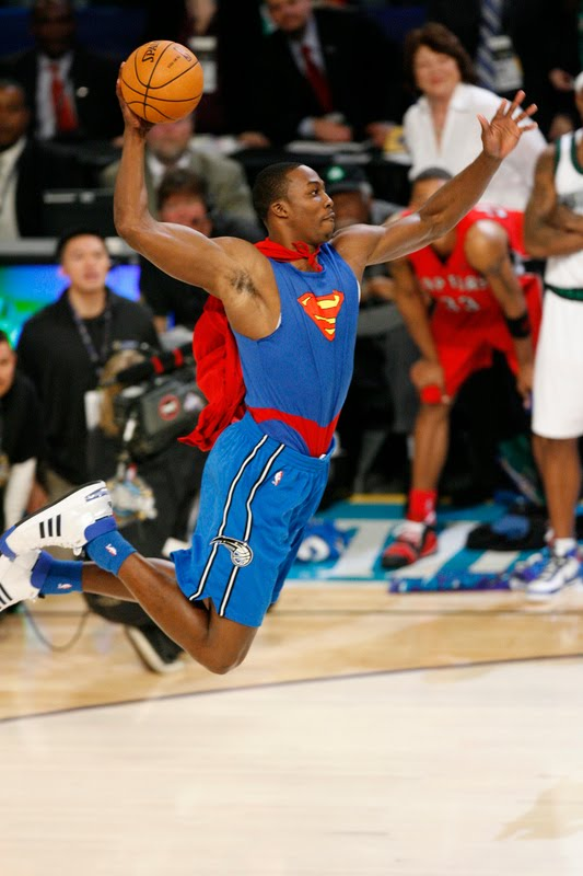 dwight howard superman 2009. Dwight Howard of the