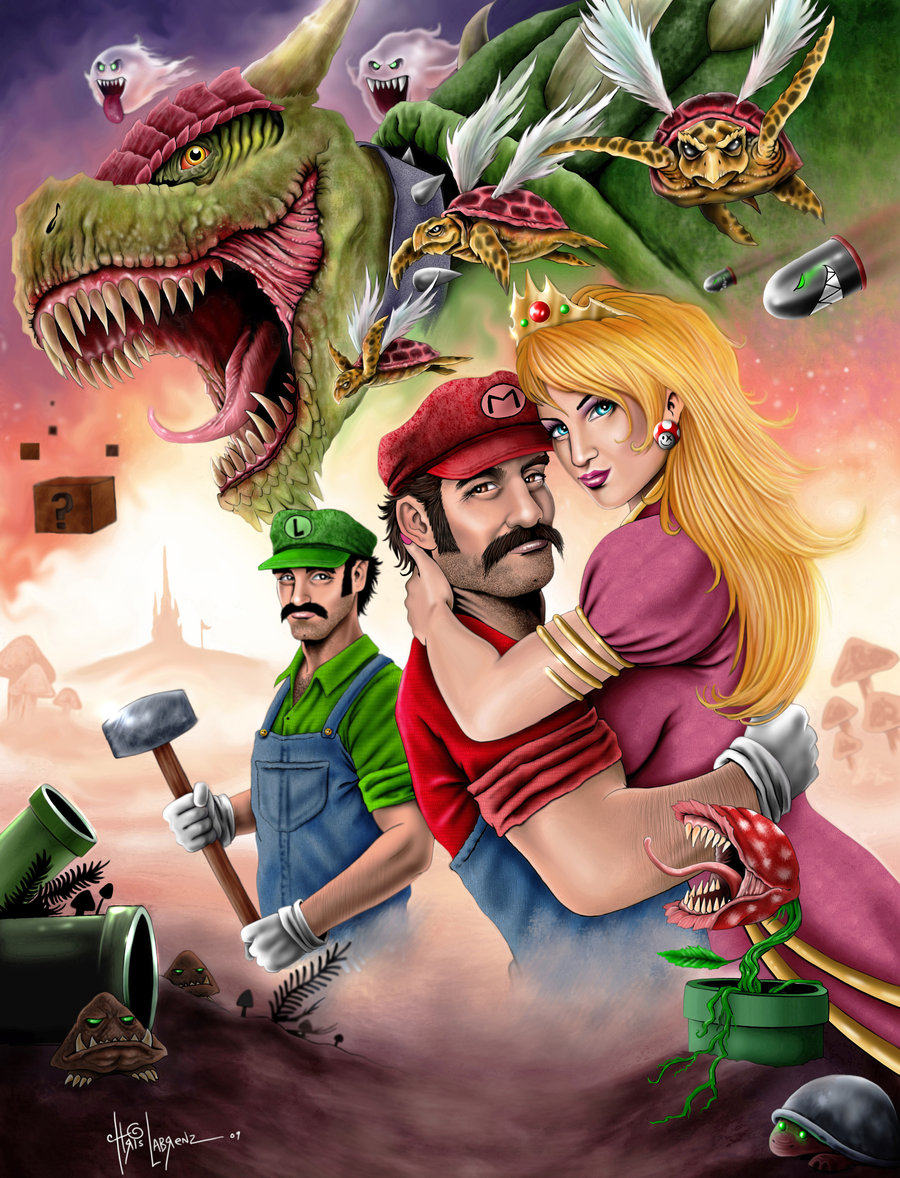 Gfest coolest super mario bros artwork to date