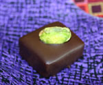 Dark Chocolate Caramel with Pistachio