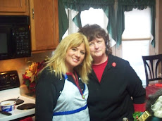My Mom and I in the kitchen!