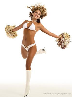 Anabel Dela Cerna Bikini Cheerleader Pics 2