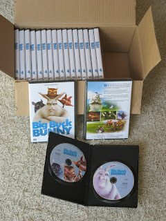 Big Buck Bunny DVDs