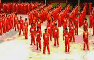 Dancing Prisoners of Cebu I need a Hero Video Clip