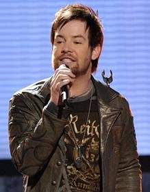 May 13 American Idol David Cook Sings The First Time Ever I Saw Your Face