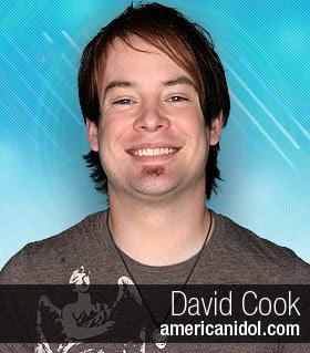 David Cook on American Idol Finals