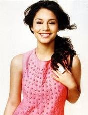 Vanessa Hudgens poses Glamour June 2008 issue