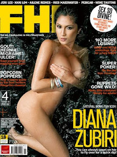 Diana Zubiri Nude - FHM Philippines July 2008 Covergirl