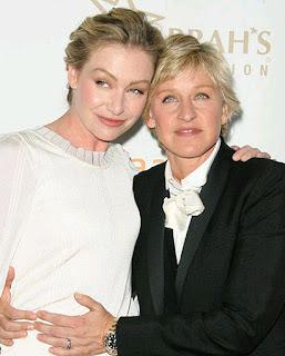 Ellen DeGeneres Wedding Pictures