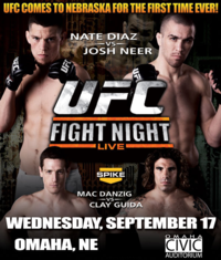 Watch UFC Fight Night Live Streaming