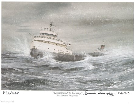 "an analysis of the stanzas of wreck of the edmund fitzgerald by gordon lightfoot Lyrics to ""the wreck of the edmund fitzgerald"" by gordon lightfoot stanza by stanza, pointing play the song ""the wreck of the edmund fitzgerald"" by."