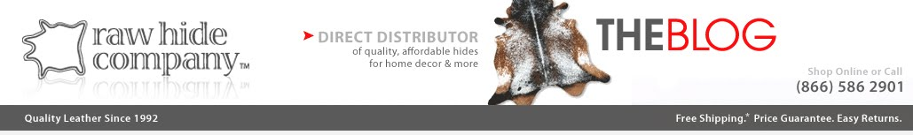 Rawhide Company Blog - Cowhide Rugs in Interior Design and Beyond