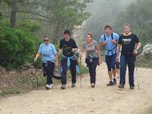 La marxa dels traginers a Palamós.