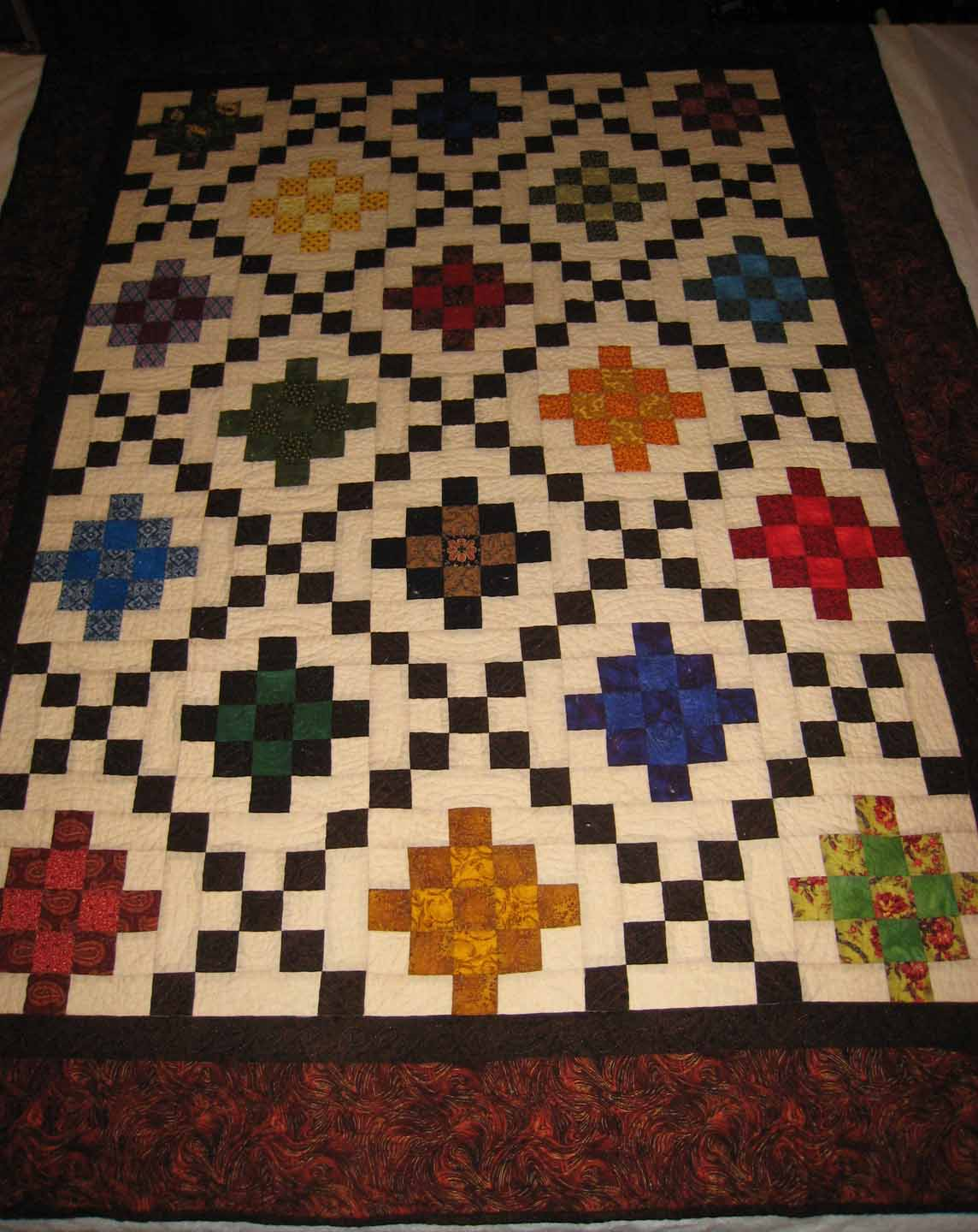 DOUBLE IRISH CHAIN QUILT PATTERN - Browse Patterns