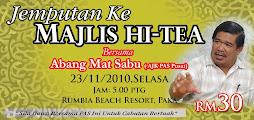 Majlis Hi-Tea Bersama Abang Mat Sabu
