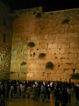 [2008] People praying at the Wailing Wall (also called the Western Wall)