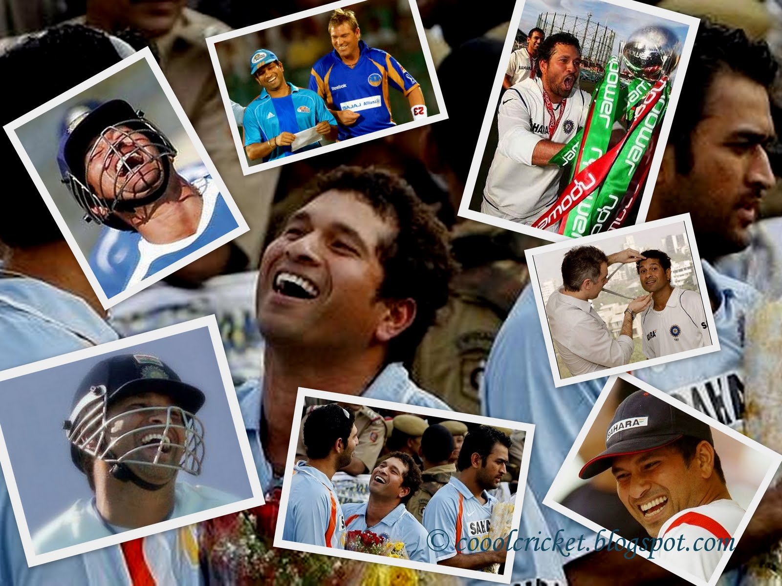 Sachin Tendulkar Wallpaper Laughing