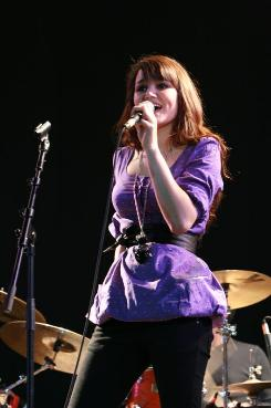 Performing at Peel Bay Festival June 2007