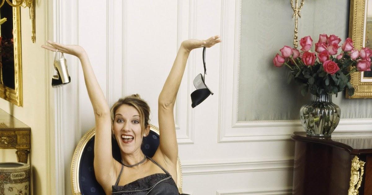 FETICHISMO DE PIES FEMENINOS: CELINE DION