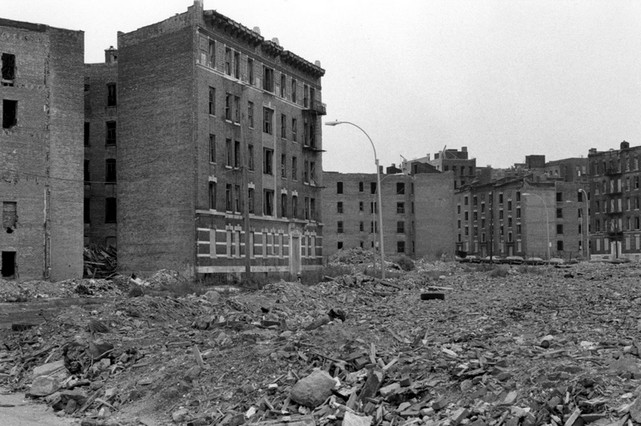 Pandemic New York South Bronx Way Back In The Day