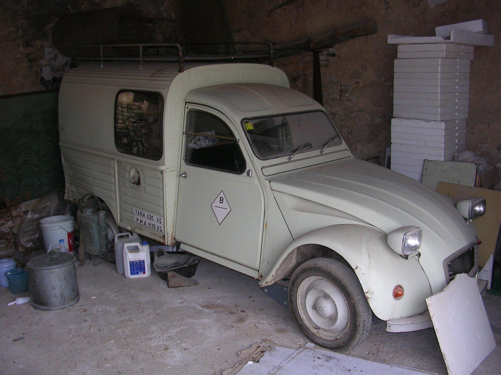"""Restauració Citroën 2CV AKS 400 """"el crispín"""" (o """"citrola"""") DSCN4248"""