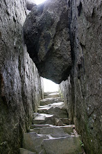 A passageway up Old Rag
