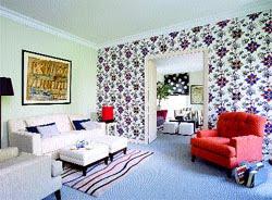 Media naranja brillasvos ideas para renovar tus paredes - Papel para cubrir paredes ...