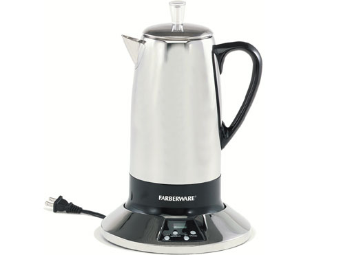 Percolators - some of the basic problems with percolator coffee