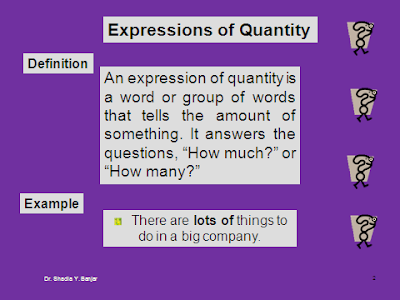 Shadias Page Subject Verb Agreement Using Expressions Of Quantity