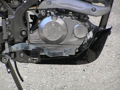 KLX125 (Dトラッカー)スキッドプレート