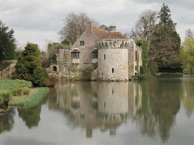 Let Britannia Rise Scotney Castle Kent
