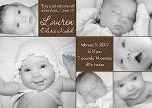 My Birth Announcement