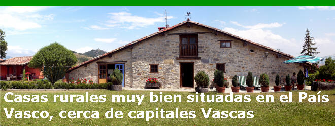 Casas Rurales Pais Vasco