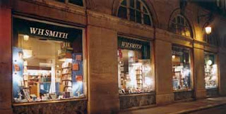 WH Smith Paris bookstore