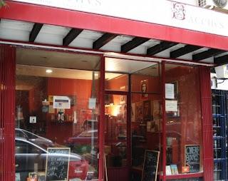 bacchus bar and bookshop madrid