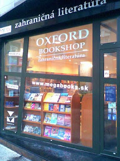 the oxford bookshop bratislava