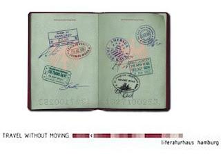 Literaturhaus Passport Poster