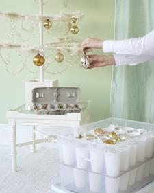 opbevaring til julekugler