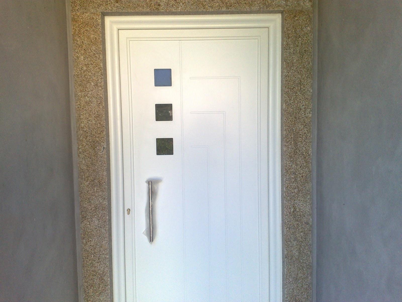 #7B7350 Porta de entrada com painel em aluminio lacado branco 976 Porta E Janela De Aluminio Em Salvador