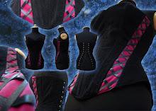 corset campesina magenta