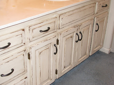 Veryyyyyyyyyyry distressed cabinets - The Magic Brush Inc ...