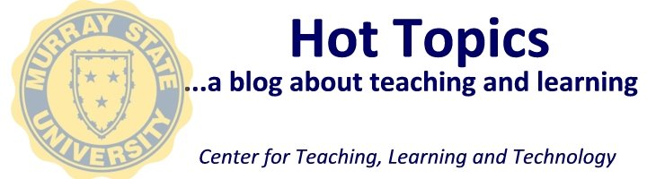 Hot Topics in Teaching and Learning