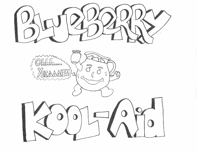 Blueberry Kool Aid