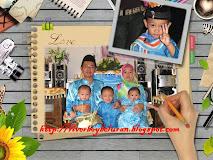 Abang Sani & family