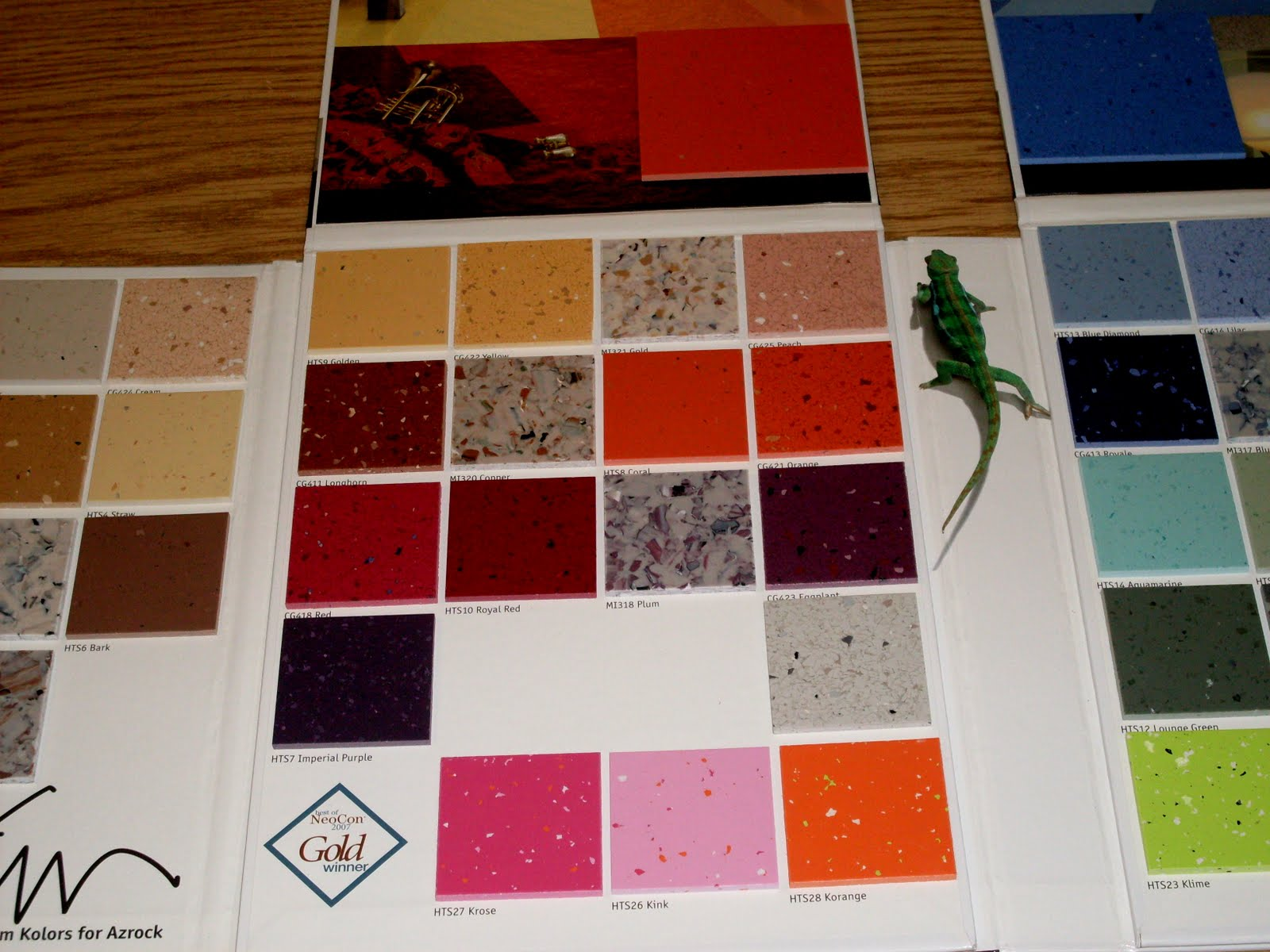 Creative reuse spotlight product sample boards the scrap exchange with these carpet sample boards use a utility knife to remove the top of the board and handle or leave them intact and incorporate those features into baanklon Gallery