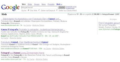 google fotograf kassel