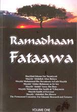 Ramadhaan Faawa Volume One