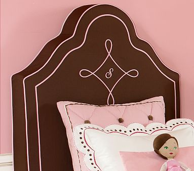 Amelia Headboard Cover from Pottery Barn Kids $64.99 for a full size cover