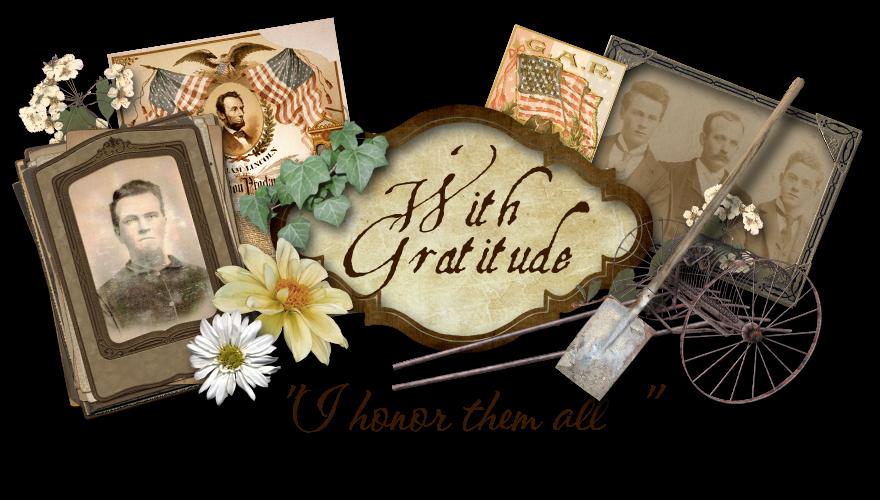 With Gratitude...I honor them all